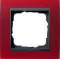 Gira Event Opaque rood / antraciet